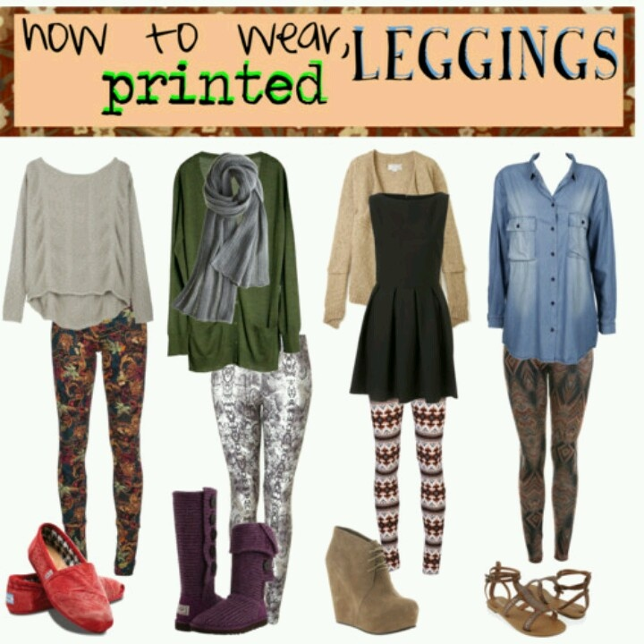 Printed leggings | LulaRoe Outfits | Pinterest