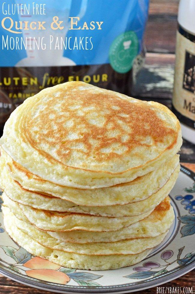gluten free easy pancakes
