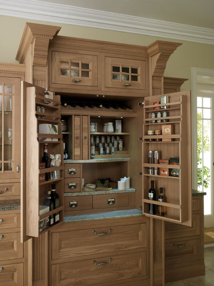 Kitchen Range Pantry Spice Drawers Wine Racks Pull Out