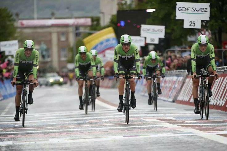 Giro; ploegentijdrit in Belfast