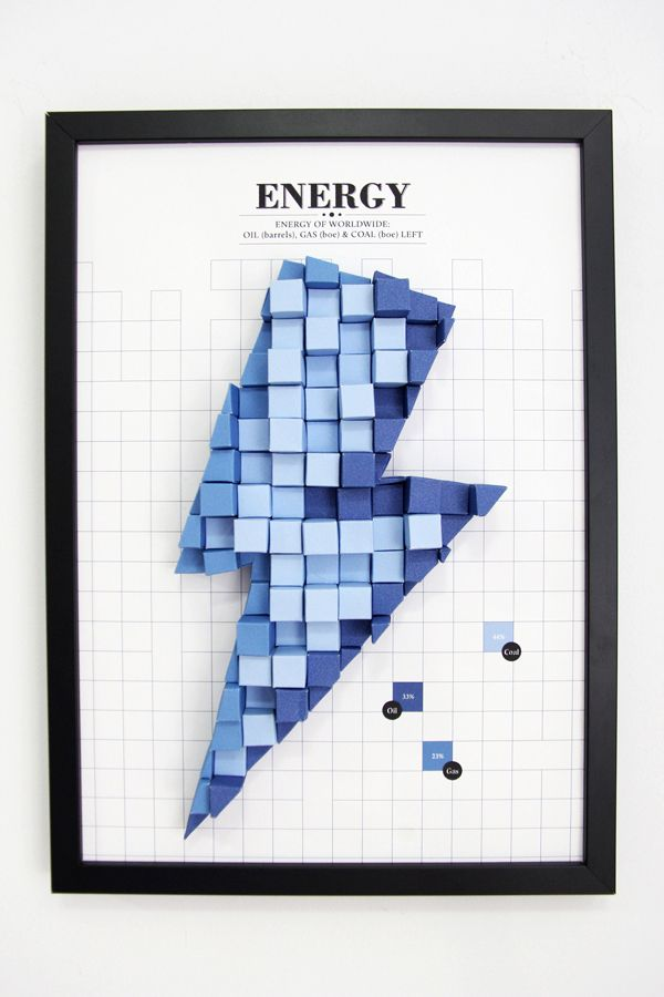 Tangible Paper Infographic by Siang Ching