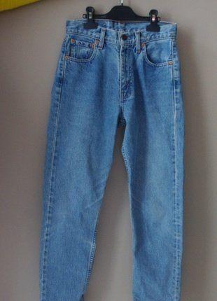 À vendre sur #vintedfrance ! http://www.vinted.fr/mode-femmes/jeans/27571233-jean-en-coton-levis-taille-haute