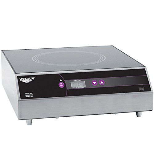 vollrath ultra series countertop induction range cooker 208240v