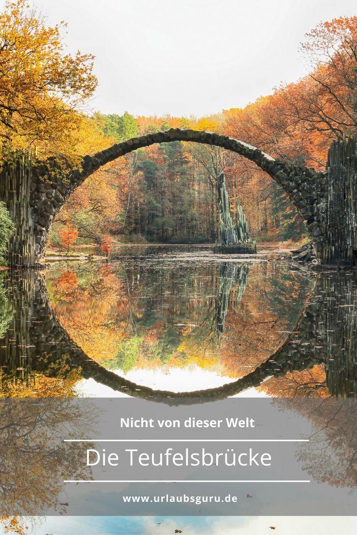 Die Teufelsbrücke gehört zu den meistfotografierten Orten in Deutschland Einfach märchenhaft oder
