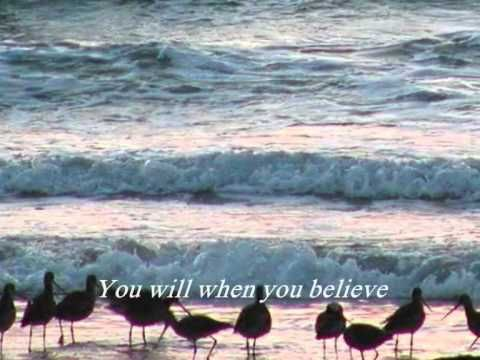 Chloe Agnew: When You Believe