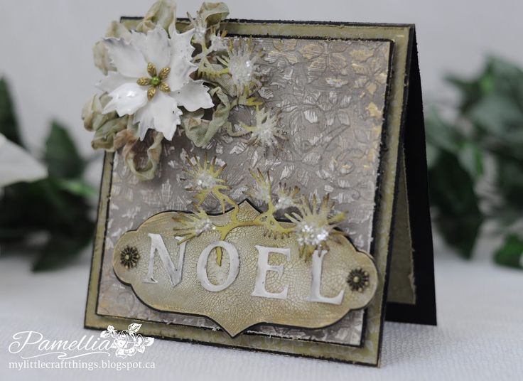 Crafty Cardmakers #125 - It's Only Words - Christmas Noel