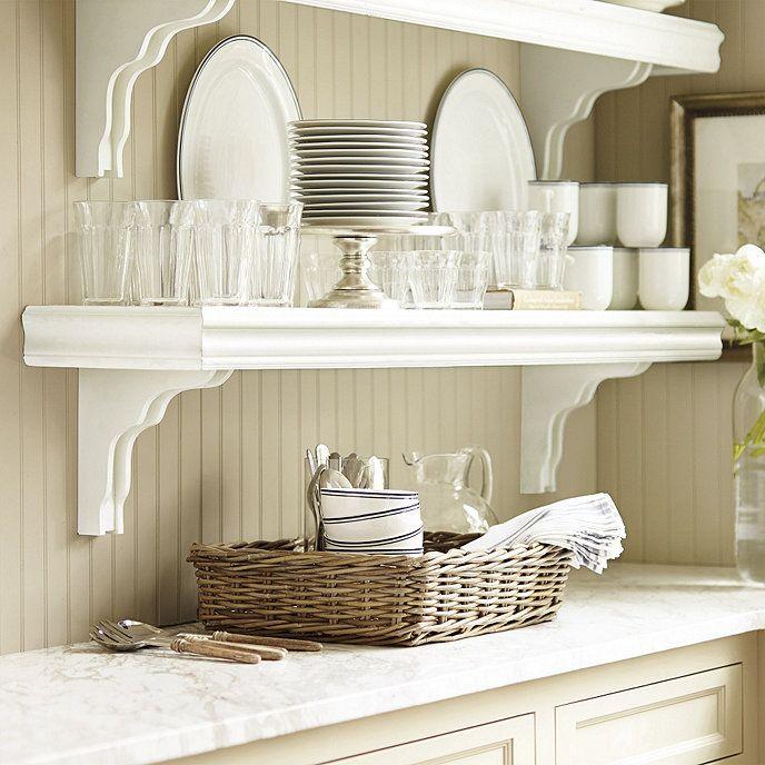 Cafe Shelf Ballard Designs Shelves Kitchen Decor Kitchen Layout