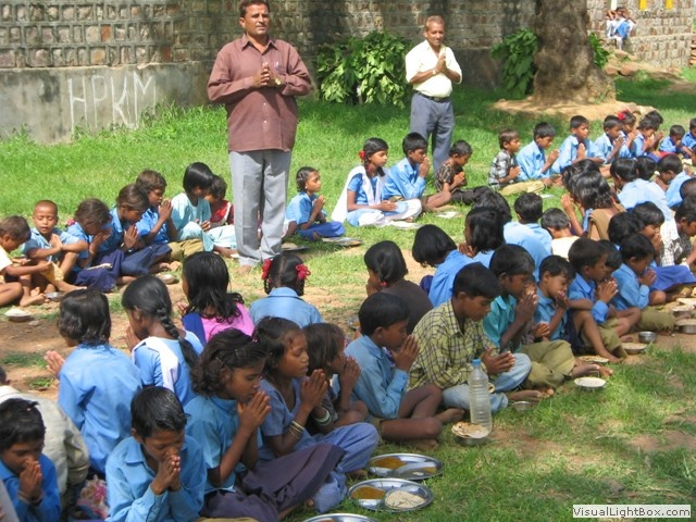 Feeding school children so that they are not deprived of education due to hunger