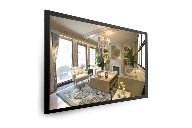 Hidden TV Mirrors: Imagine a television that looks like a mirror!Tired of your television being the focal point of the room? TV mirrors are your answer!Your television is hidden behind a decorative mirror. When you turn on the TV, the mirror transforms into a state-of-the-art LED HD Smart television – with a sharp, clear picture you'll love.Television mirrors are great for family rooms, above the fireplace, bathrooms – anywhere where you'd like the convenience of watching television without…