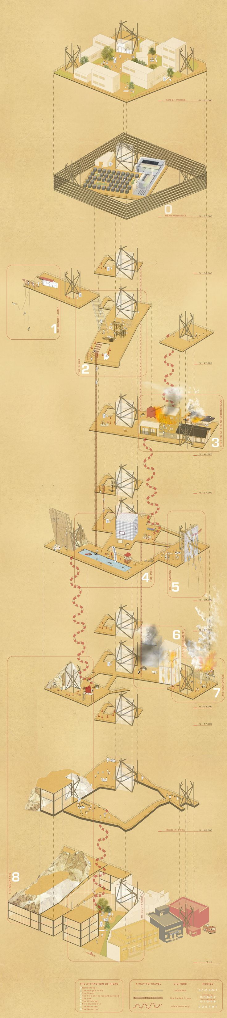 Find This Pin And More On Exploded Axonometric Architectural Drawing