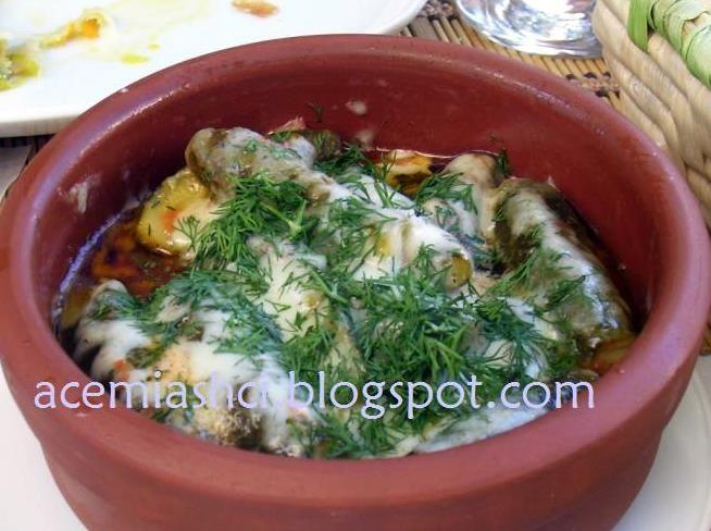 Cunda'dan Girit yemekleri   acemiasci