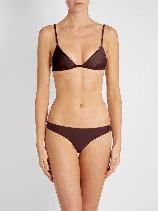 The Petite Triangle bikini top | Matteau