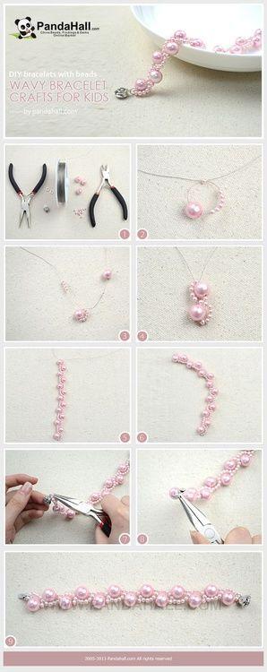 DIY - Pulsera de perlas