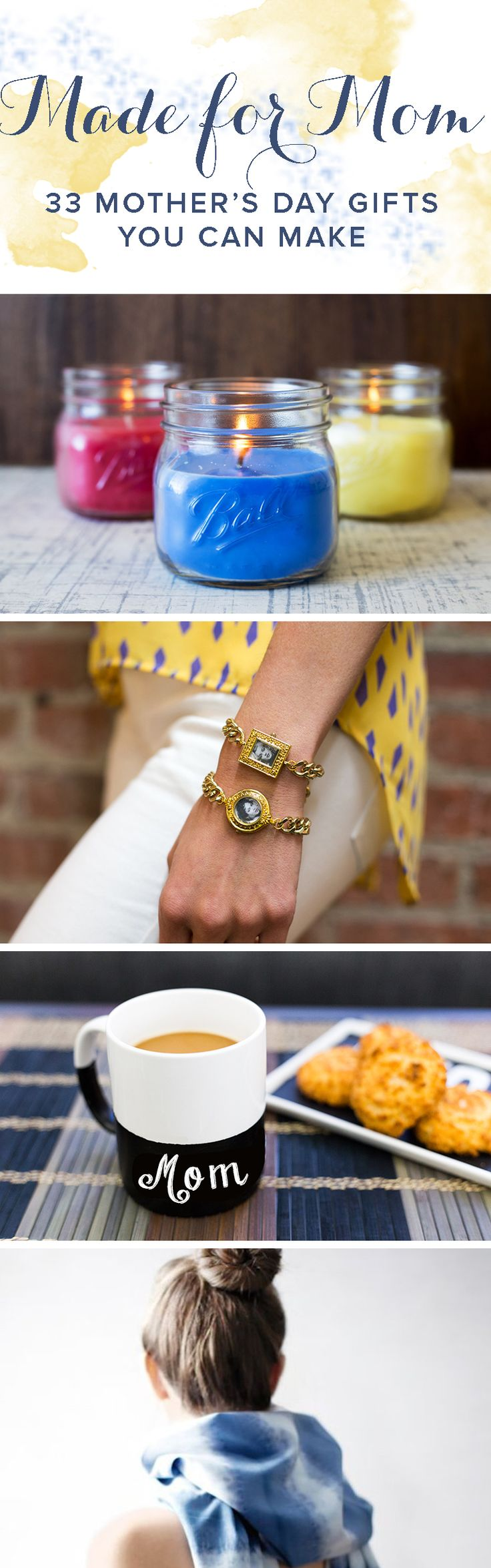 33 Gifts You Can Make for Mom - Mothers Day Gift Ideas
