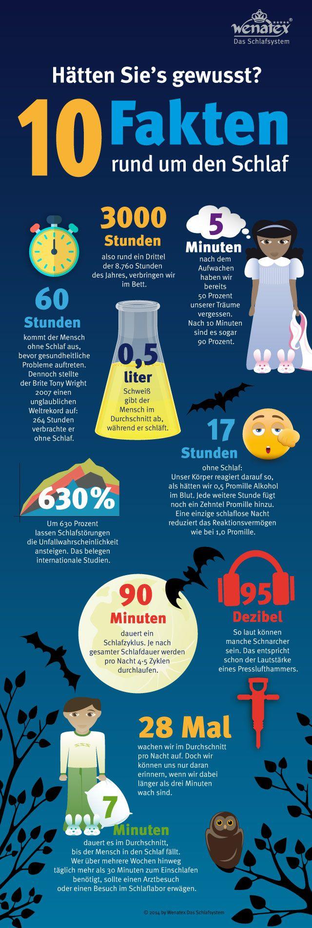 Schlaf: 10 Fakten