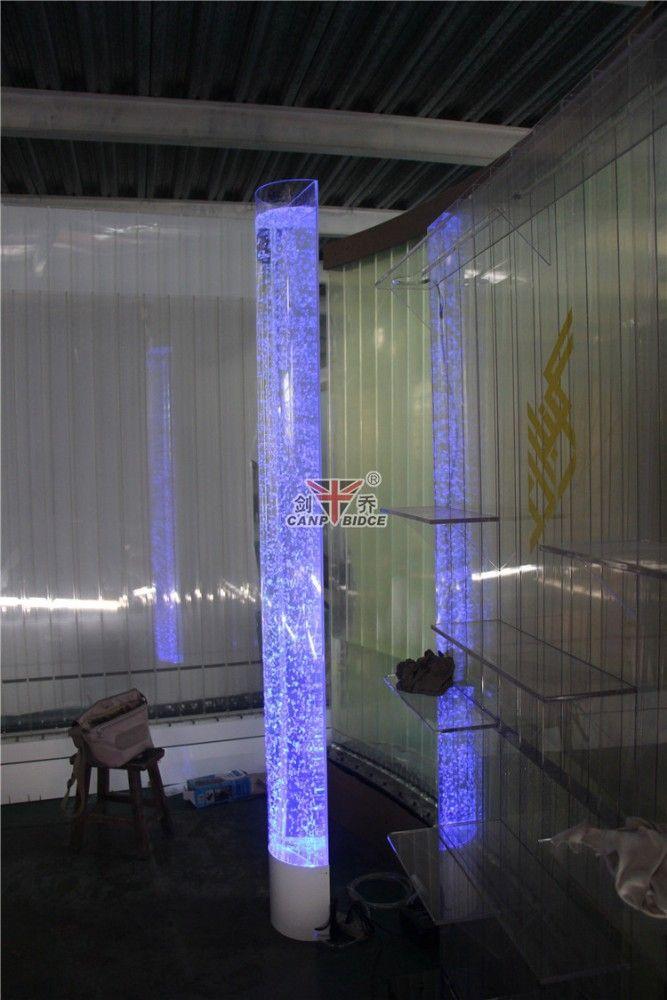 Interior Decoration Glass Aquarium Water Bubble Column For Sale - Buy Water Bubble Column,Acrylic Aquarium For Sale,Plastic Columns For Weddings Product on Alibaba.com