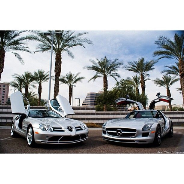 Mercedes SLR vs SLS. Which beauty would you go for?