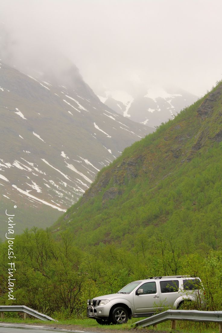 Artic Silver at Norway by #Juha #Jousi. #Nissan #Pathfinder