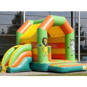 Custom made lion inflatable bouncers rental,little tikes inflatable bouncer with slide for event