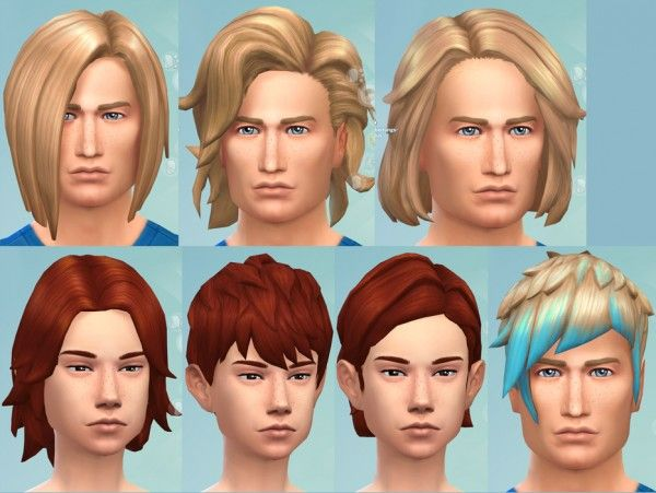 The Sims  Cats And Dogs No Ombre Hair