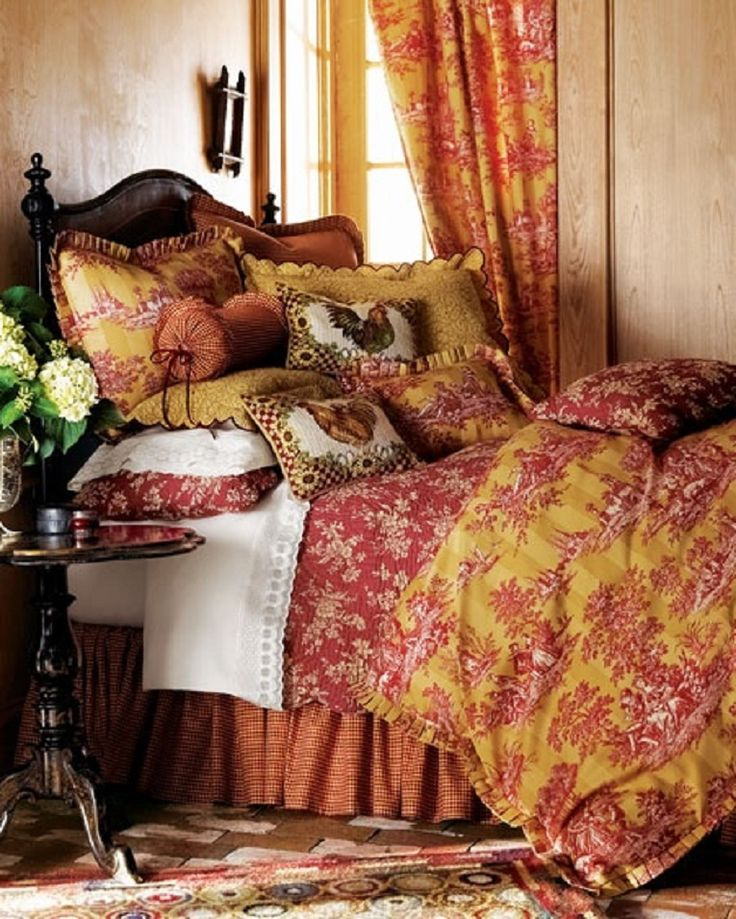 1000 Images About French Country My Way On Pinterest French Country Bedrooms Toile