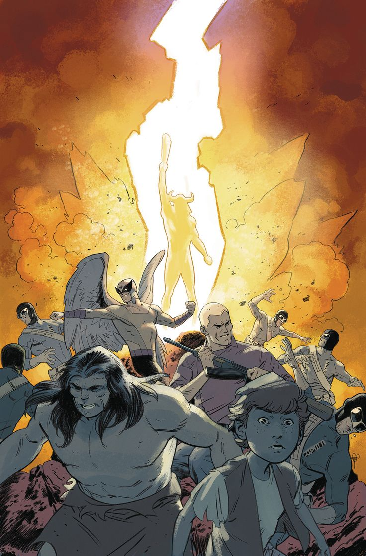 *High Grade* (W) Jeff Parker (A) Steve Rude, Aaron Lopresti (CA) Evan Shaner An earth-shattering power has come to life in the jungles of South America, and Team Quest and Birdman race the forces of F