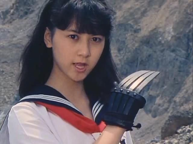 Yoko Minamino in Sukeban Deka The Movie