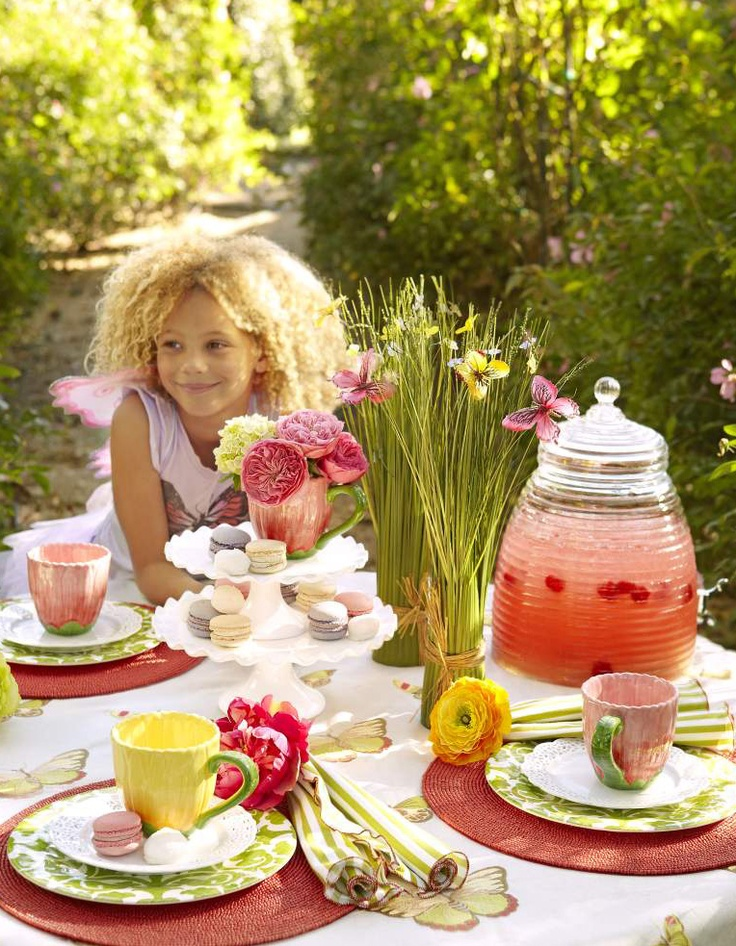 Spring is the perfect time for an outdoor garden party