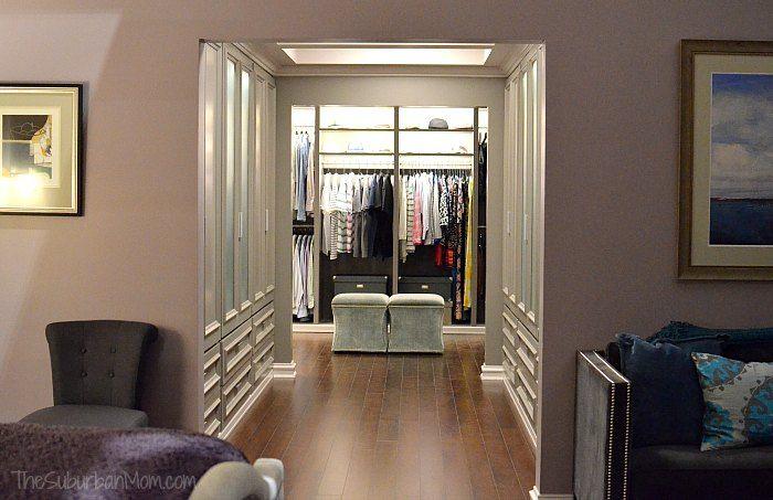 Bedroom Walk In Closet Ideas