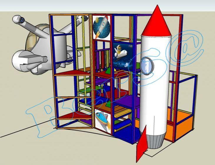 Uzay İstasyonu Üretim Yeri : Türkiye de üretilmektedir. Ebat : 5,00m x 3,00m x 5,0mH Uygunluk : Anaokulları, Restaurant, Çocuk Cafe, Poliklinikler, Parti Evleri, Hastane, Oteller, AVM'ler için uygundur. Uygulama tipi : 20 gün içesinde teslim  Özellikleri : İç Mekanda kullanılabilir. 1 1,10x5,4mh Fiberglass Roket 1 1,60x1,20x0,90mh Fiberglass uzay mekiği Led ışıklar Yumuşak sosisler yatay ve dikey silindirler Merdivenler Dijital baskılı şeffaf paneller ( uzay temalı)