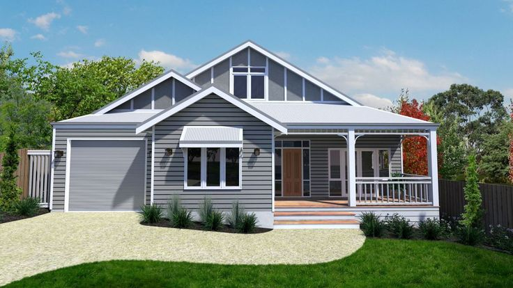 Sylvia House - Traditional 4 Bedroom Cottage Design