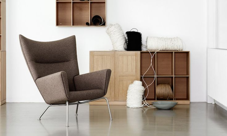 CH445 Wingchair by Hans J. Wegner  Danish Interior Design Budapest