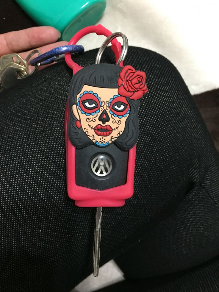 DIY cute key sleeve made from a travel size hand sanitizer