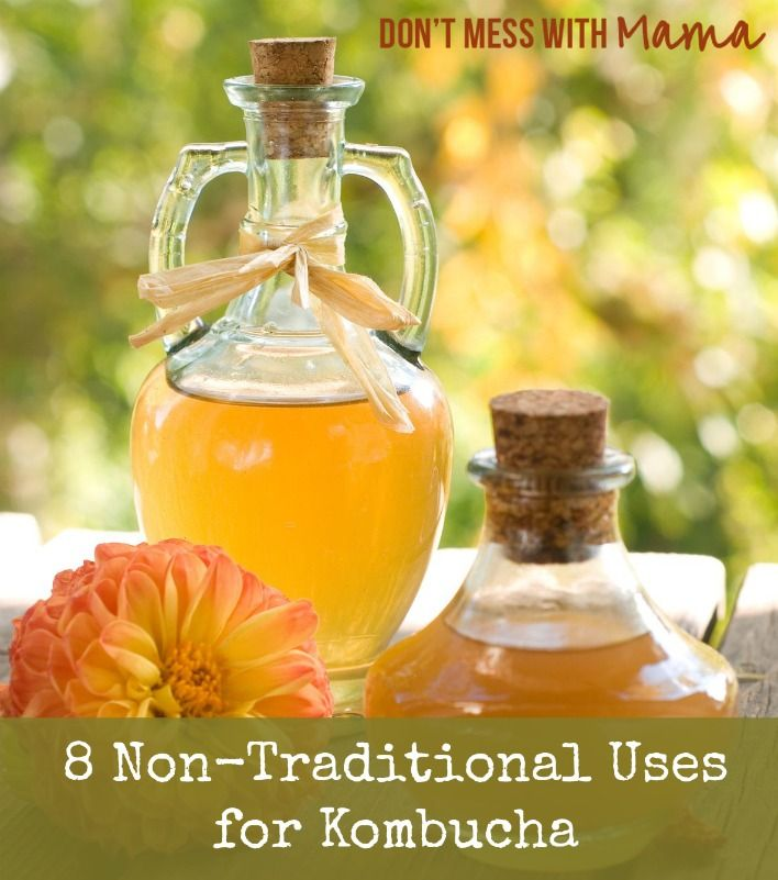 8 Non-Traditional Uses for Kombucha - Don't  Mess with Mama.com