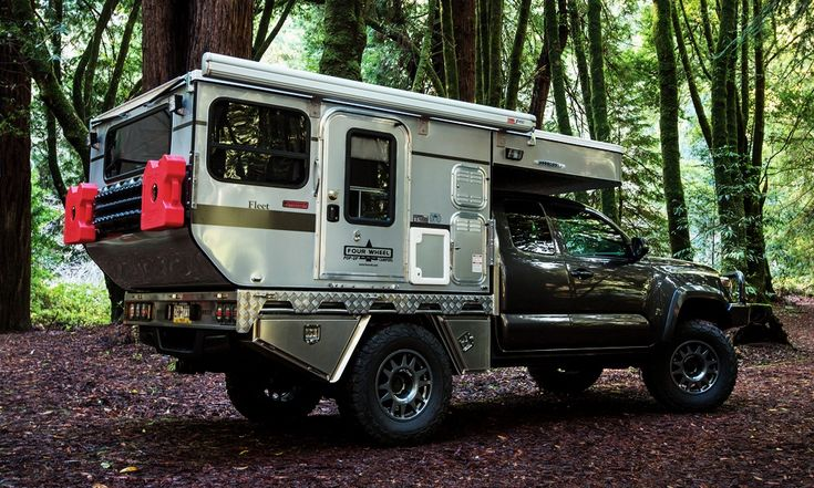 Woolrich Pop-Up Truck Campers | Cool Material