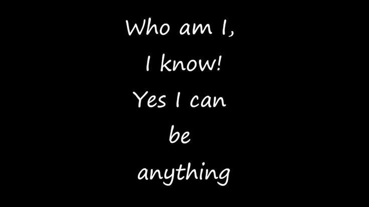 Who Am I Lyrics XD