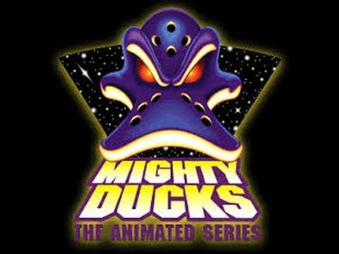 "Tim Curry and Tony Jay in ""Mighty Ducks: The Animated Series"". I LOVE both of them. R.I.P. Tony Jay. :("