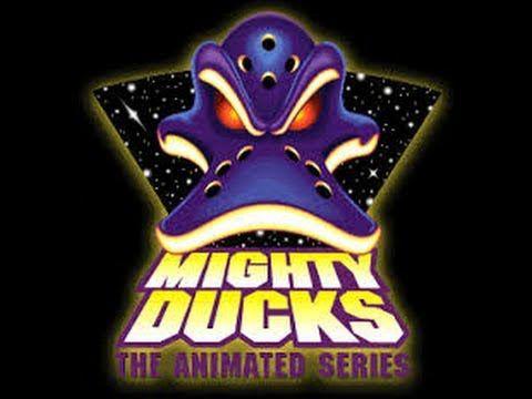 "Tim Curry and Tony Jay in ""Mighty Ducks: The Animated Series"". I LOVE both of them. R.I.P. Tony Jay. :("
