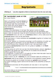 Image result for afrikaans worksheets grade 3 free