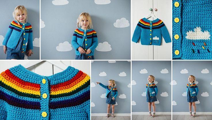 Rainy Day Cardigan by Catherine Waterfield | Inside Crochet Magazine - Blog | Inside Crochet