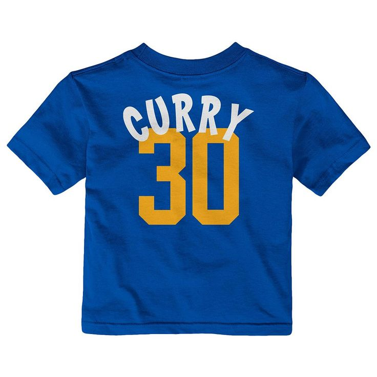 Baby Adidas Golden State Warriors Stephen Curry Whirlwind Tee, Infant Unisex, Size: 24 Months, Blue