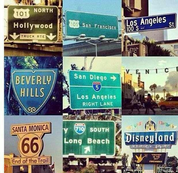 I have never been to California and I've always wanted to visit. I hope to visit soon.