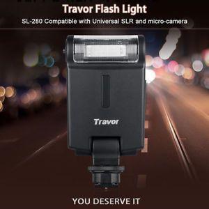 a universal luz de flash speedlite for canon nikon pentax olympus dslr camara es