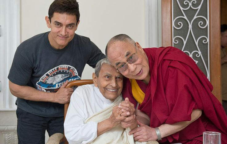 The Dalai Lama and Amir Khan! ♥