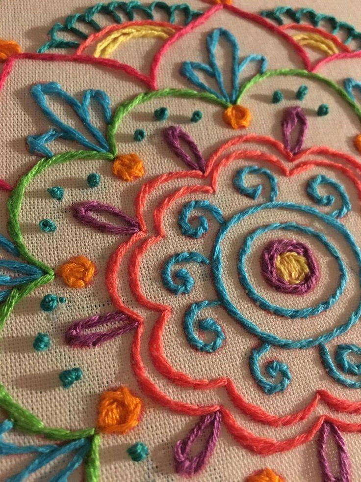 Image result for cojines con mandalas bordados