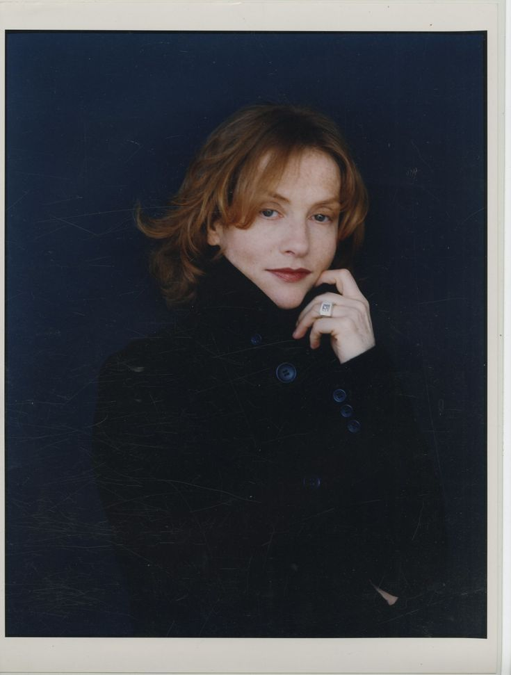 L'actrice française Isabelle Huppert par Marianne Rosenstiehl     #Cinéma_théâtre_variété