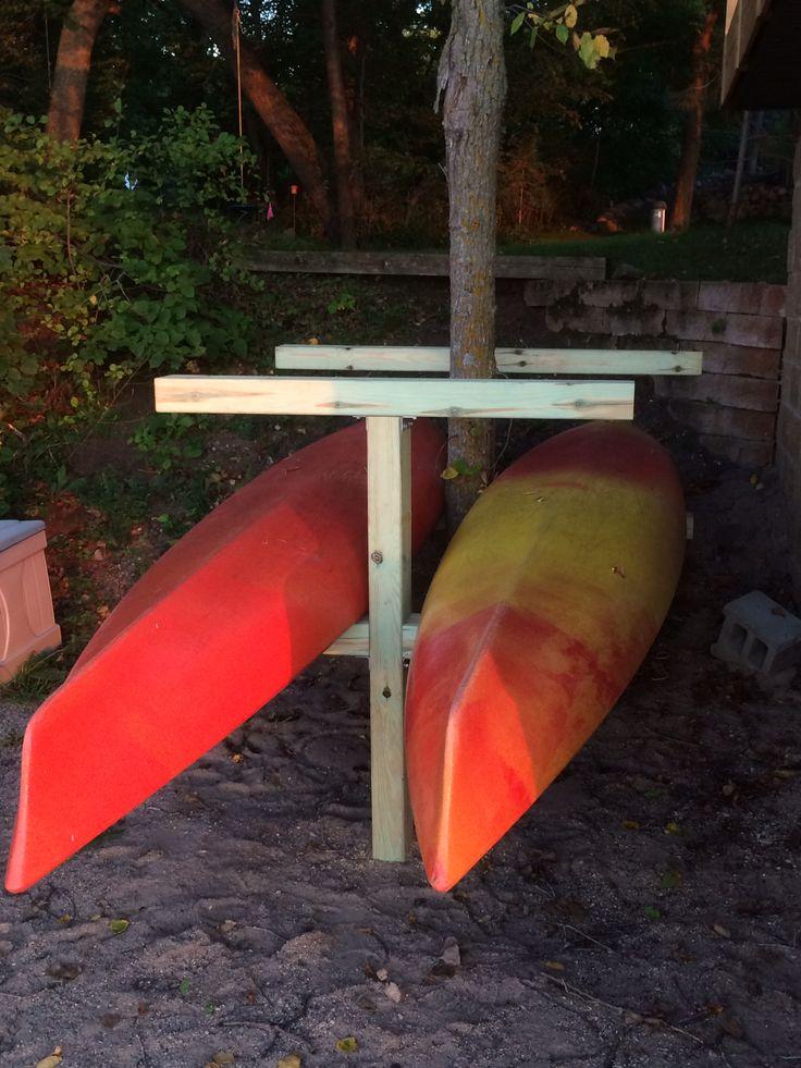 Best 25 Kayak Rack Ideas On Pinterest Kayak Storage