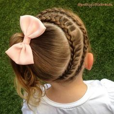 adorable trenzado peinados para nias