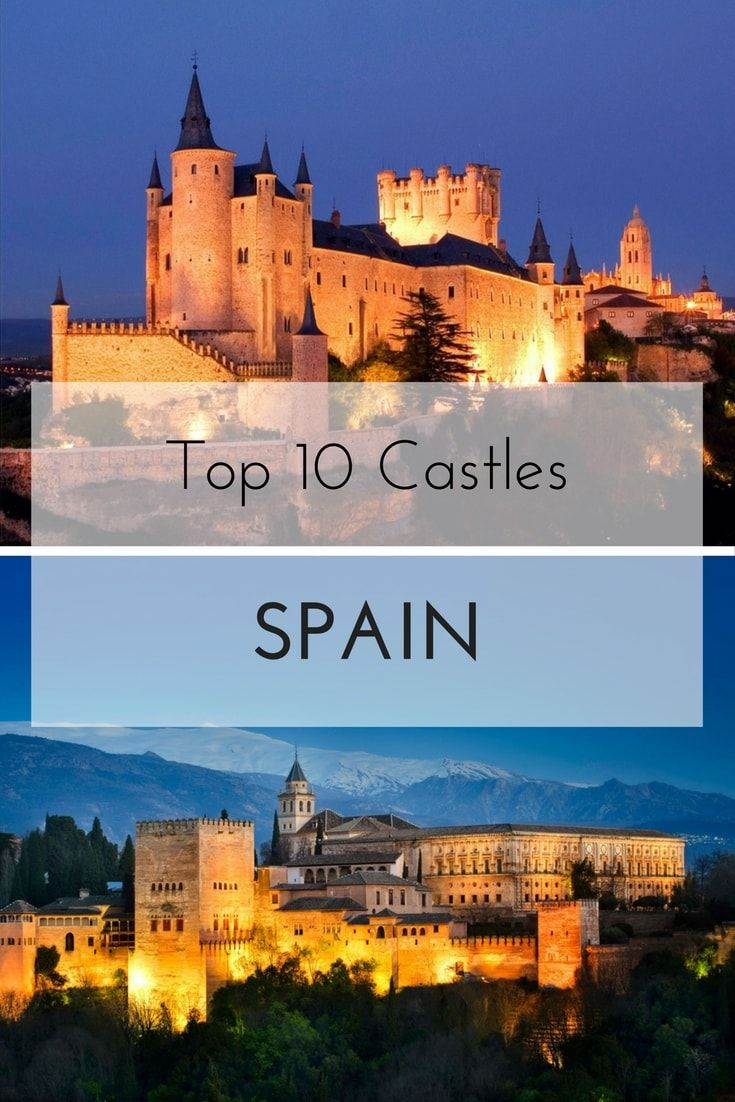 Even though royalty lived in them for brief periods, more often Spanish castles were designed to withstand sieges