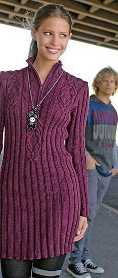 Hermoso vestido tejido (Beautiful knitted dress)
